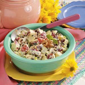 Raisin-Walnut Waldorf Salad