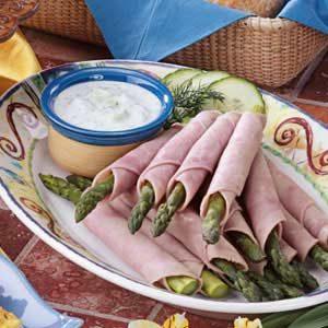 Ham N Asparagus Roll-Ups