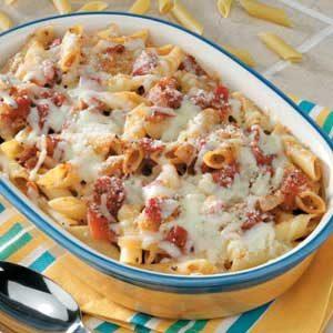 Tomato N Cheese Pasta
