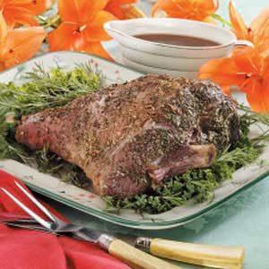 Rosemary Leg of Lamb