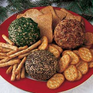 Three-in-One Cheese Ball