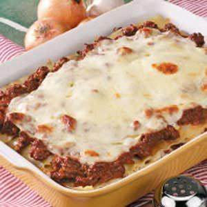 Cheesy Lasagna