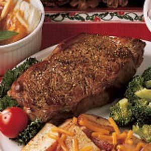 Lemon Pepper Steak