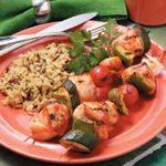 Grilled Turkey Kabobs