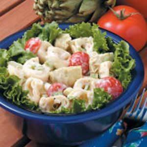 Tortellini Artichoke Salad