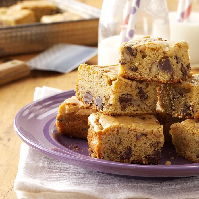 Chippy Blond Brownies