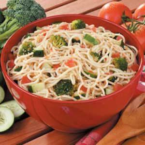 Supreme Spaghetti Salad