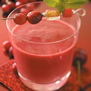 Cherry Yogurt Smoothies