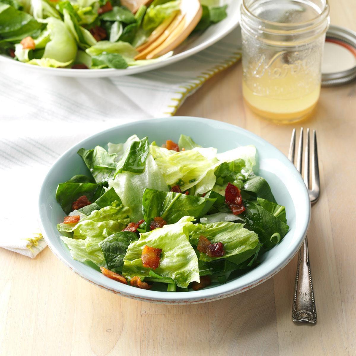 South Dakota: Bacon Spinach Salad