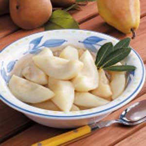 Gingered Pears