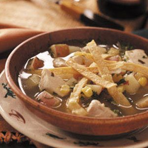 Chicken Tortilla Soup with Lime