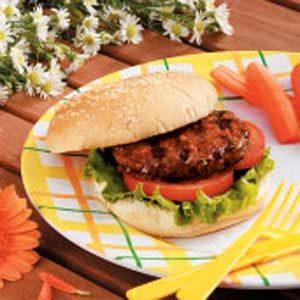 Asian-Style Hamburgers