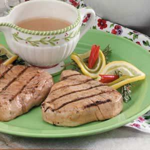 Citrus-Ginger Tuna Steaks
