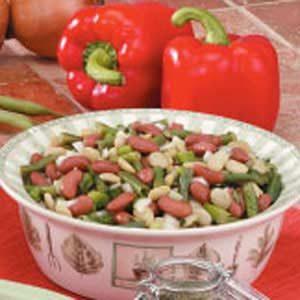 Quick Three-Bean Salad