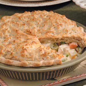 Vegetable Chicken Potpie