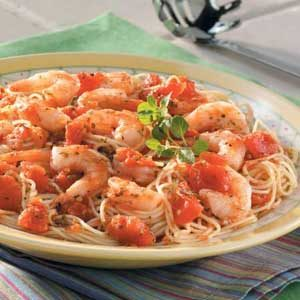 Italian Shrimp and Pasta