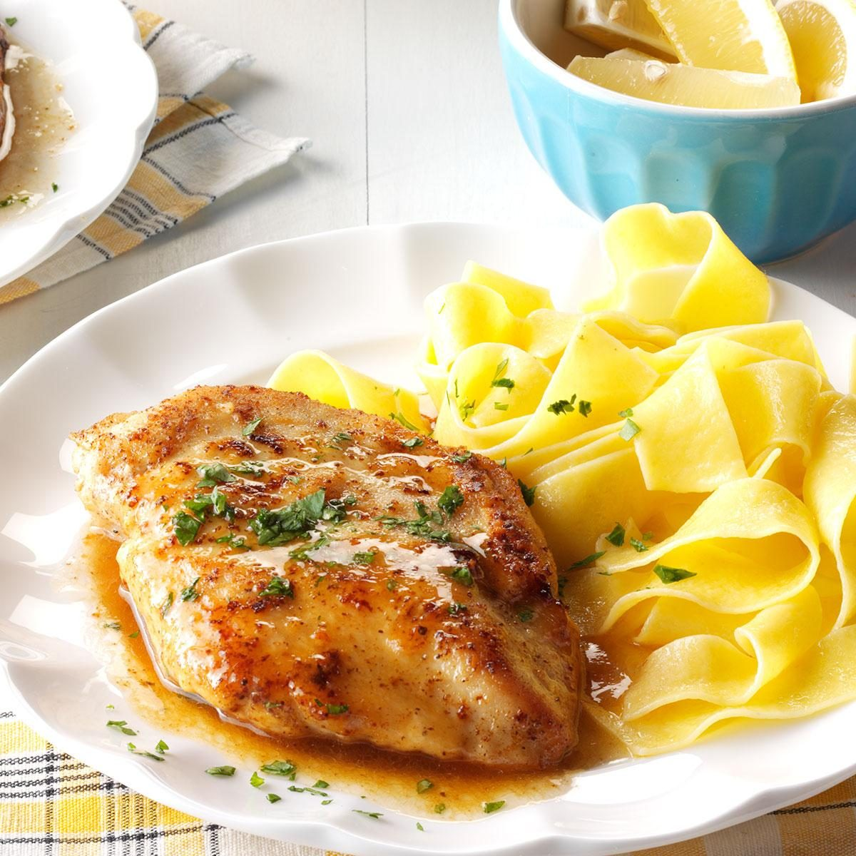 Wednesday: Quick Chicken Piccata