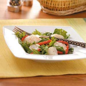 Warm Scallop Salad
