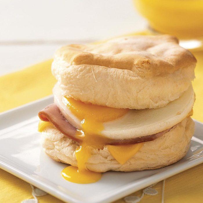 Breakfast Biscuits 'n' Eggs
