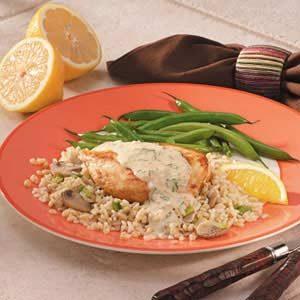 Lemon Chicken 'n' Rice