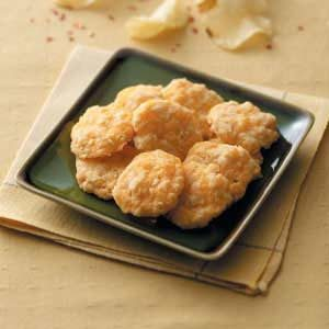 Crunchy Cheese Crisps