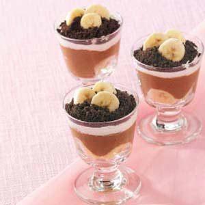 Banana Chocolate Parfaits