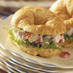 Mini Chicken Salad Croissants