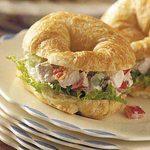 Mini Chicken Salad Croissants