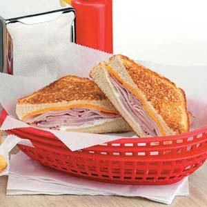 Grilled Ham 'n' Jack Cheese