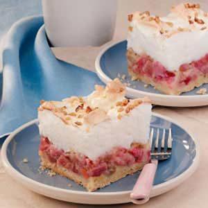 Makeover Rhubarb Shortcake Dessert