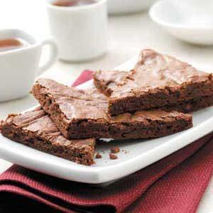 Luscious Fudgy Brownies
