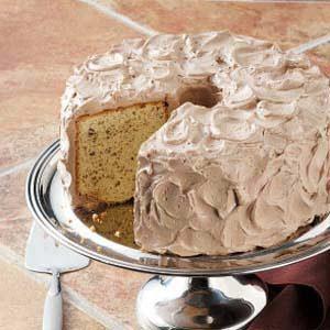Hazelnut Chiffon Cake