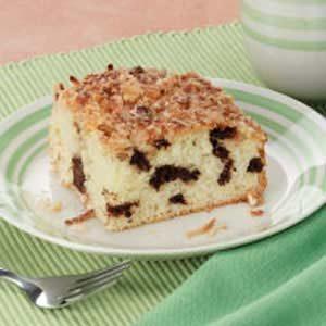 Coconut Walnut Coffee Cake
