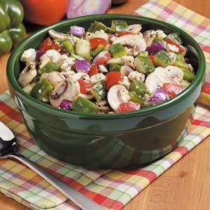 Feta Veggie Salad