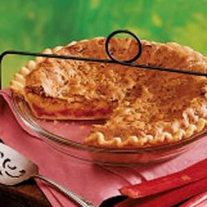 Orange Rhubarb Pie