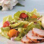 Strawberry Salad with Cinnamon Vinaigrette
