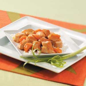 Apricot Orange Chicken
