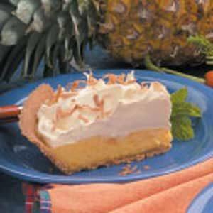 Pineapple Pudding Pie