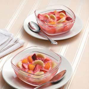 Easy Frozen Fruit Cups