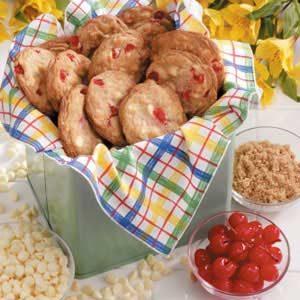 Vanilla Chip Cherry Cookies