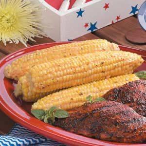 Savory Grilled Corn
