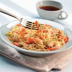 Thai Shrimp and Noodles