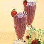 Orange Blueberry Shakes