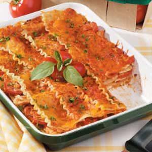 Creamy Chicken Lasagna