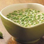 Peas in Cheddar Cream Sauce