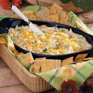 Warm Broccoli Cheese Spread