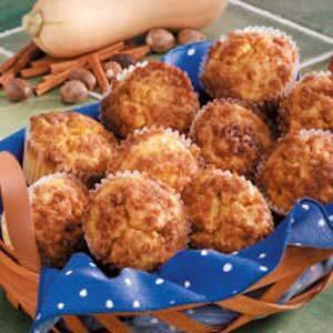 Spiced Squash Muffins