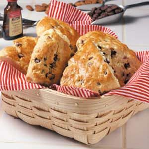 Almond Chip Scones