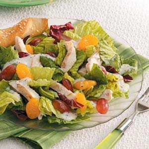Fruity Chicken Tossed Salad