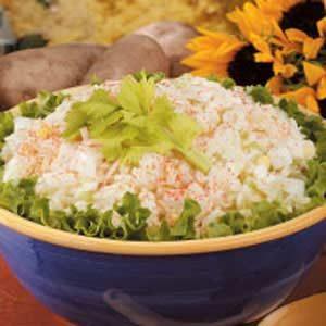 Grated Potato Salad